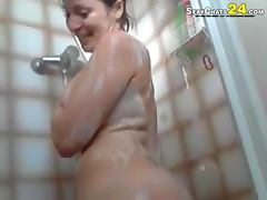 Bathing, Bath, Bathing, Brunette, Shower, Webcam