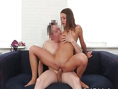 Creampied by tricky porn agent
