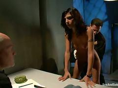 Bondage, BDSM, Bondage, Brunette, Jail, Prison