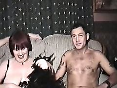 Homemade film with mature woman and three men tube porn video
