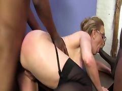 Jenna Covelli interracial threesome tube porn video