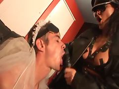 Older guy ass fucked by his mistress