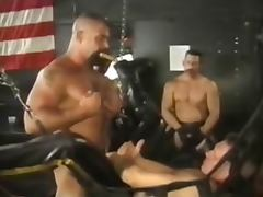 Leather party porn tube video