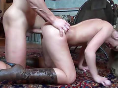 Boots, Babe, Blonde, Blowjob, Boots, Doggystyle