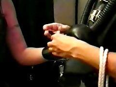donatella and her rubber slave tube porn video