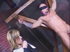 Papa Punishes Then Pleases Her Man