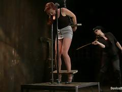 Horny Josi Valentine gets toyed and tortured in BDSM video