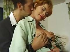 German mature milf Kira Red anal assfucked tube porn video
