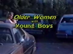Older Women Young Boys vintage  tube porn video