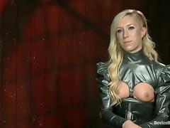 Amazing Maia Davis gets bonded and then toyed rough