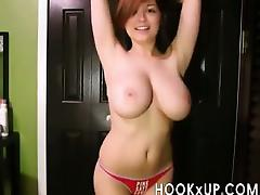 Hot Redhead Striptease - hookXup-co