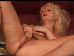 Mature Blonde - Finger Inside, Masturbation