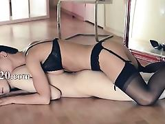 Hot lezzs fucking in front of mirror tube porn video