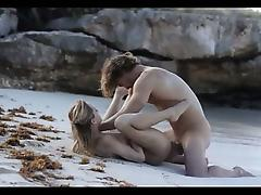fine art sex of horny couple on beach porn tube video