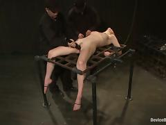 Incredible Extreme Bondage Action and Toying for Lily Labeau tube porn video