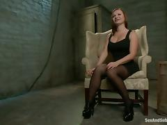 Tied up Katja Kassin gets fucked in her mouth and ass tube porn video
