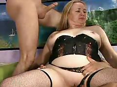 More Blonde German BBW Slut tube porn video