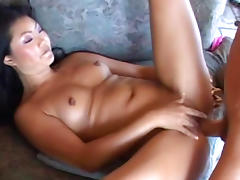 Asian beauty Lucy Lee is riding on the dick porn tube video