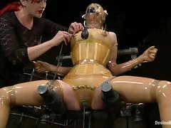 Bondage, BDSM, Bondage, Latex, Posing, Pain