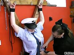 sexy mature police seduced by prisoner part4 tube porn video