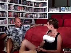 Dirty minded Italian milf takes a huge cock in her ass