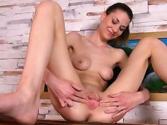 Brunette, Amateur, Babe, Brunette, Cunt, Masturbation