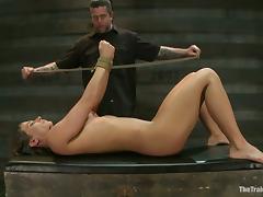 Bondage, BDSM, Bondage, Fingering, Master