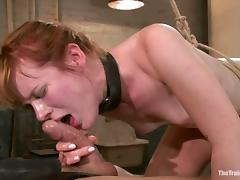 Stunning Claire Robbins gets bonded and punished porn tube video