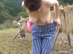 Ayano Murasaki the mature Japanese gets fucked outdoors porn tube video
