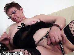 Old wears a sexy tube porn video