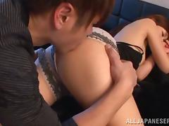 Bedroom, Asian, Bedroom, Blowjob, Couple, Cum in Mouth