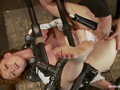 Stunning Marie McCray has an amazing BDSM experience tube porn video