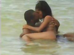 Monica In Hot Threesome On The Beach n972