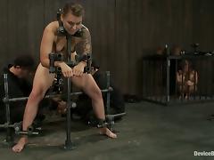 Bondage Fun with Sexy Girls Chloe Camilla and Payton Bell