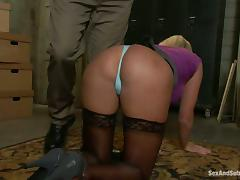 Skylar Price gets chained and loves a dick in her tight butt