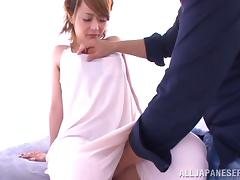 Azumi's tits are so flabby, when she gets fucked