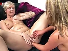 blonde fisted by another blonde