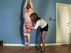 powerless milking tube porn video