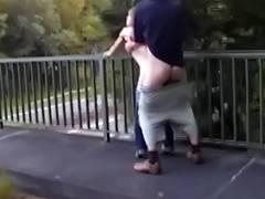 HAWT FUCK 12 Legal Age Teenager on the Bridge