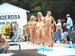Group of bare gals Ponderosa 2012 tube porn video
