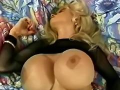 Wendy Pantoons Sexy Breasty Golden Haired