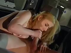 Priscilla 3some in Taxi