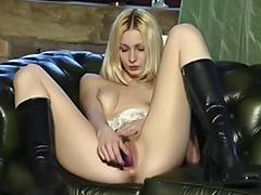 British bitch Jo May plays with herself in various scenes porn tube video