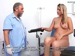 Samantha Gyno Exam by Gynecologist tube porn video