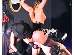 Alex D leather gloves compilation tube porn video