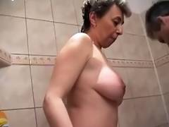 Bath, Bath, Blowjob, Horny, MILF, Shower