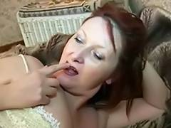 Aged Domina Licking her Feet Gazoo Cookie slow