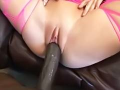 Amy Brooke takes Lexington Steele's large dark penis POV