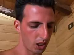 Italian Older Anal and the Man tube porn video