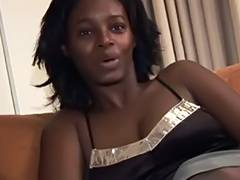 Horny ebony MILF fucked in her old cunt by white cock tube porn video